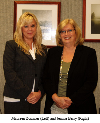 Maureen Zommer (Left) and Jeanne Berry (Right)