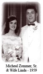 Micheal Zommer, Sr. & Wife Linda - 1959
